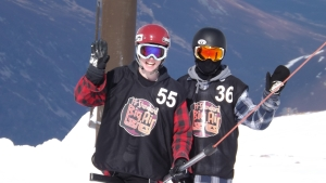 T-bar with Danny