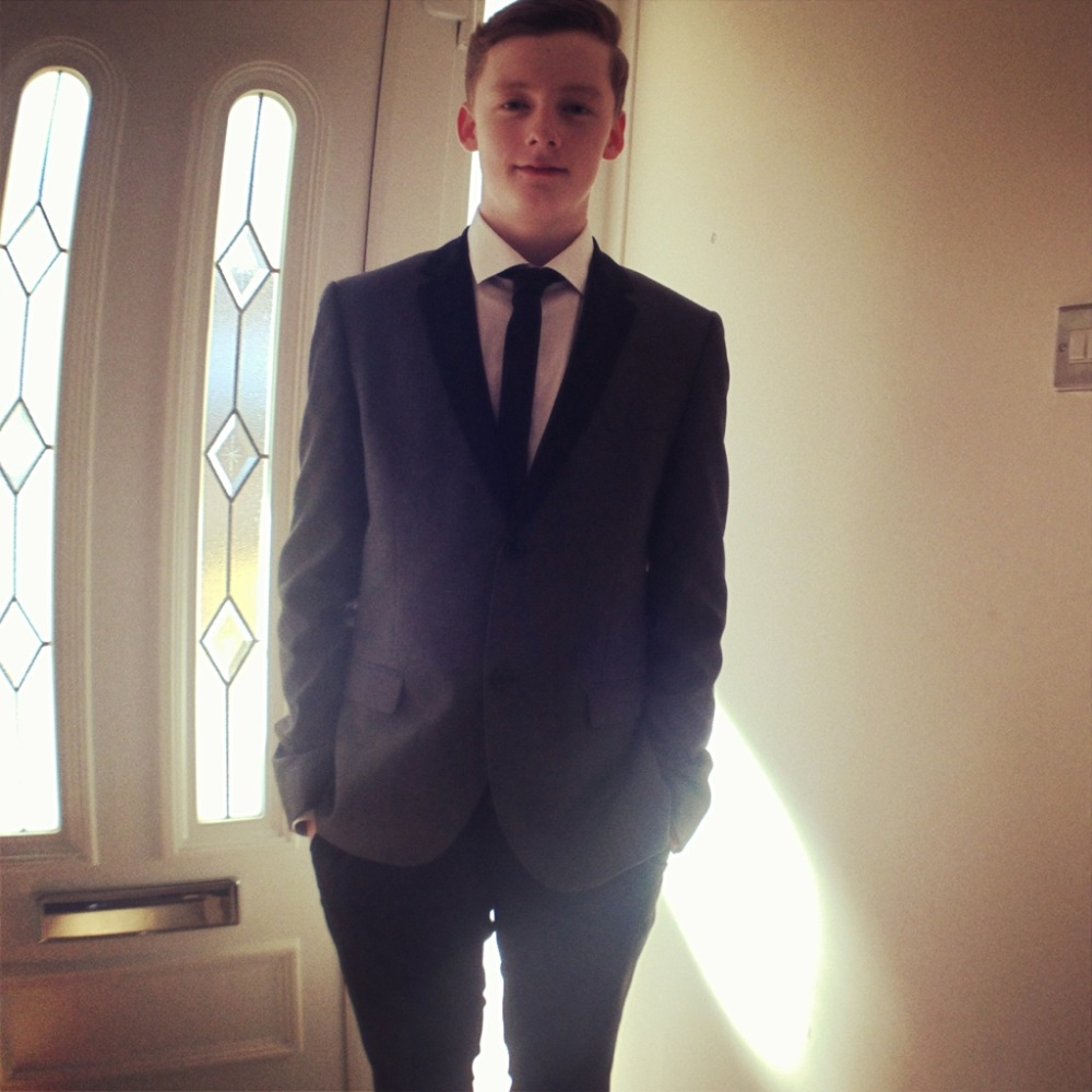 All suited up for the Awards