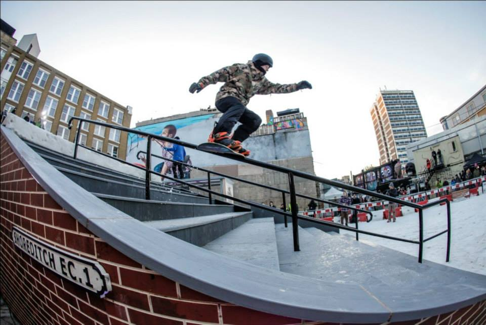 Boardslide through the Donkey | Copyright © James North