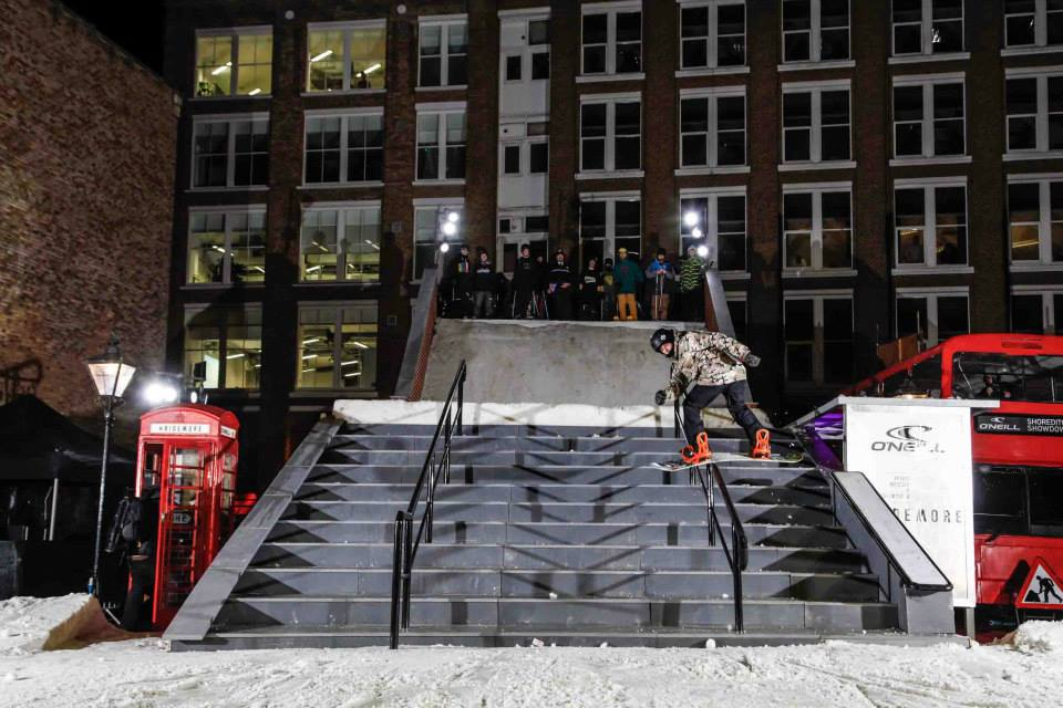 BS Lip on the down bar | Copyright © James North