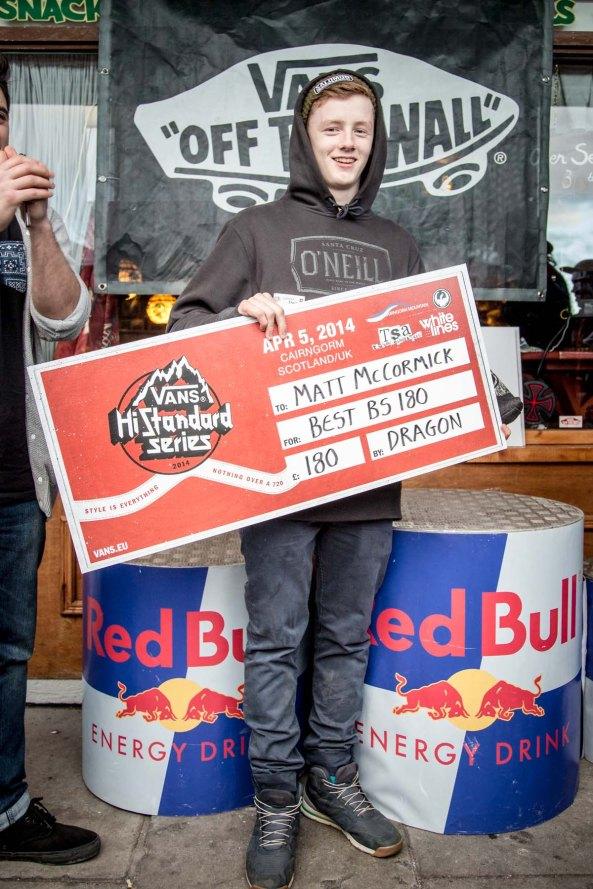 Matt McCormick Cairngorm Vans Hi Standard 2014 best BS 180