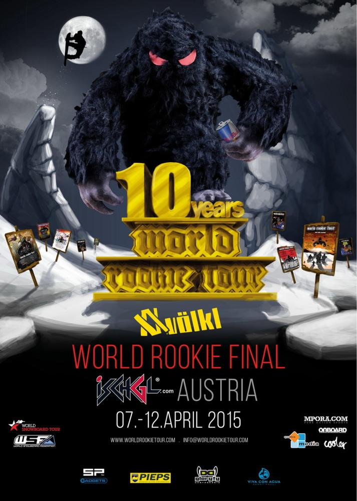 World Rookie Fest Ischgl 2015 Poster