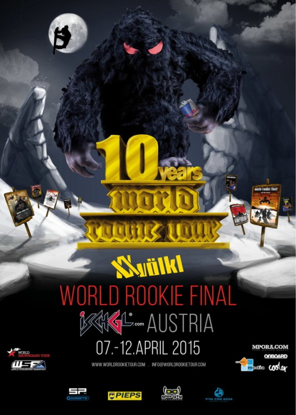 World Rookie Fest Ischgl 2015 Poster